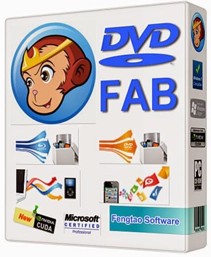 تحميل البرنامج الاول لنسخ وحرق الاسطوانات DVDFab 9.1.9.2 اخر اصدار