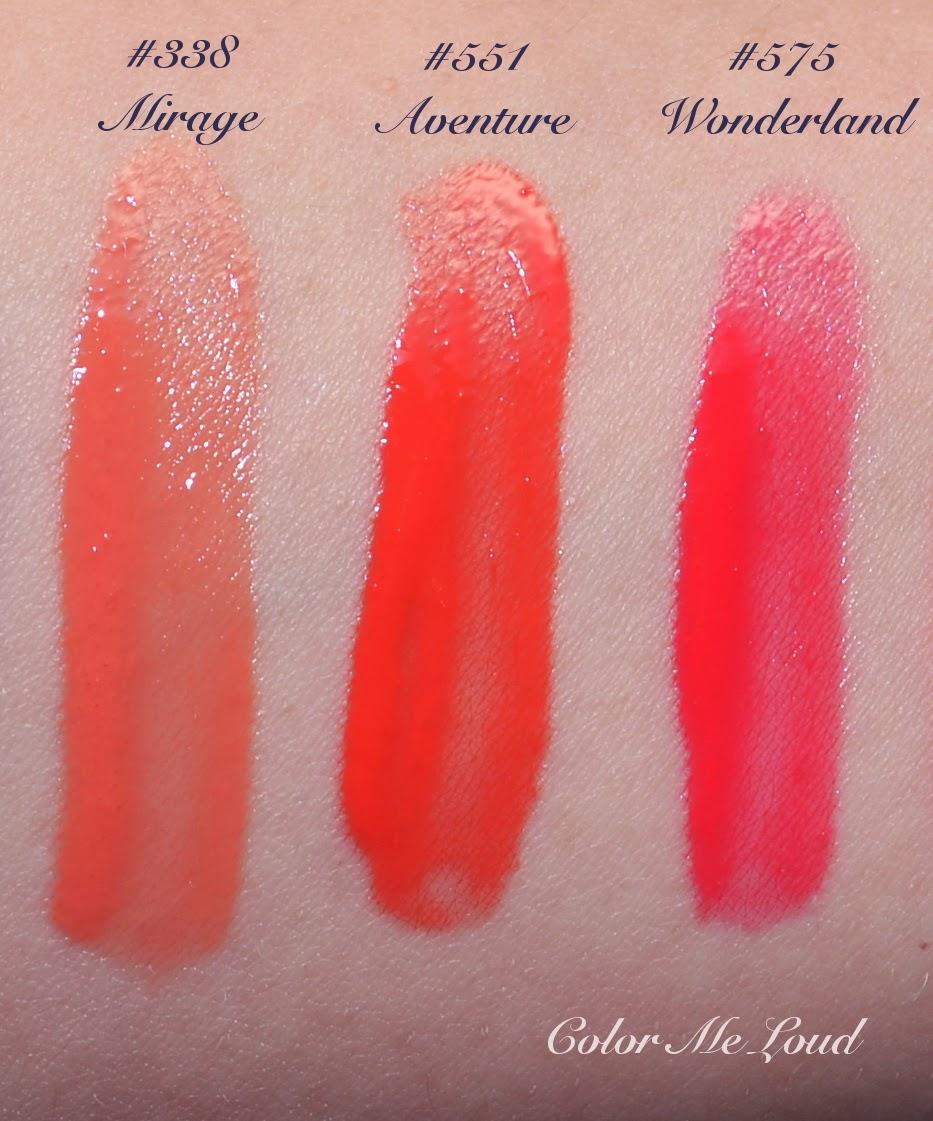 Dior Addict Fluid Sticks #338 Mirage, #551 Aventure and #575