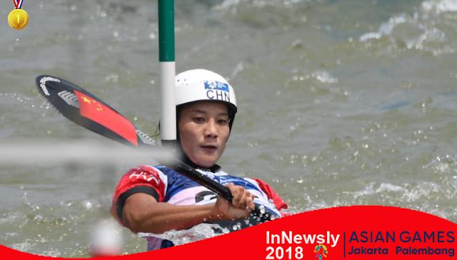 Asian Games: China sabet dua medali emas kano slalom