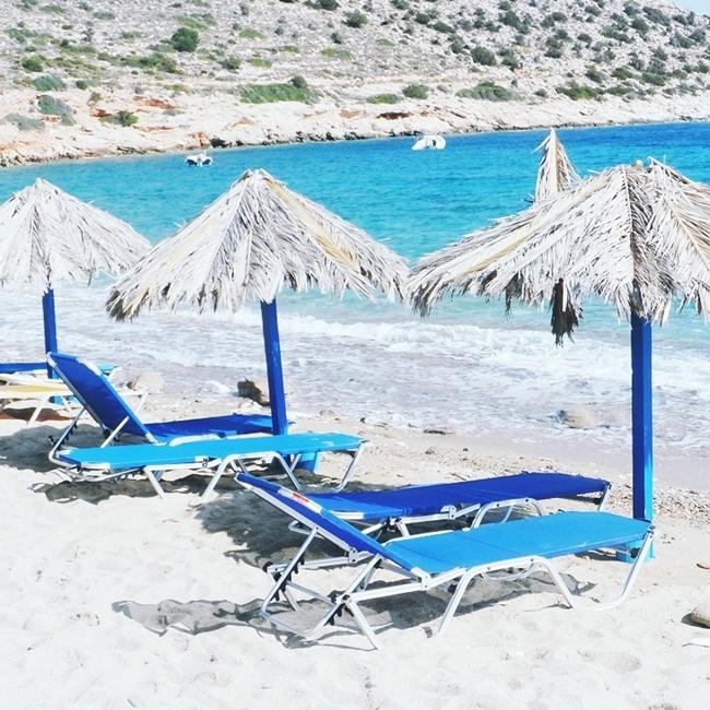 Jelena Zivanovic Instagram @lelazivanovic.Glam fab week.Agia Theodoti beach,Ios island,Greece.