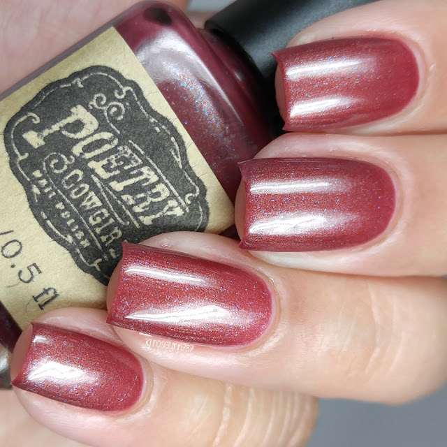Poetry Cowgirl Nail Polish - Raspberry Wine