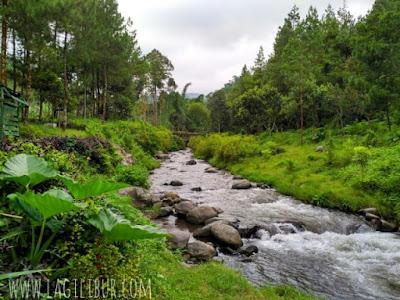 Rafting/river tubing Sungai Amprong