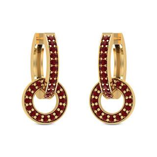 Ruby Earring - Zaamor Diamonds
