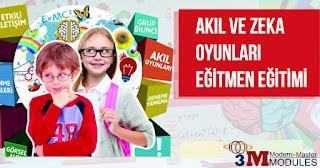 3M AKADEMİ Akıl ve Zeka Oyunları Eğitmen Eğitimi