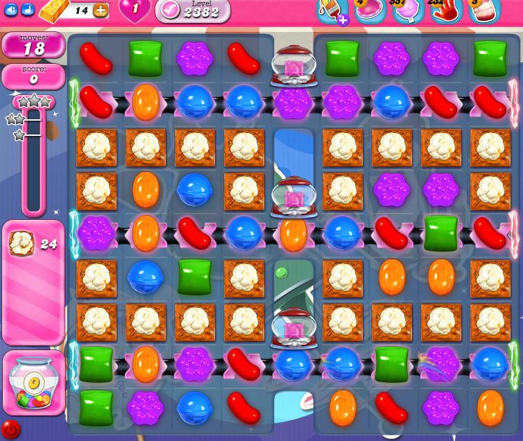 Candy Crush Saga level 2382