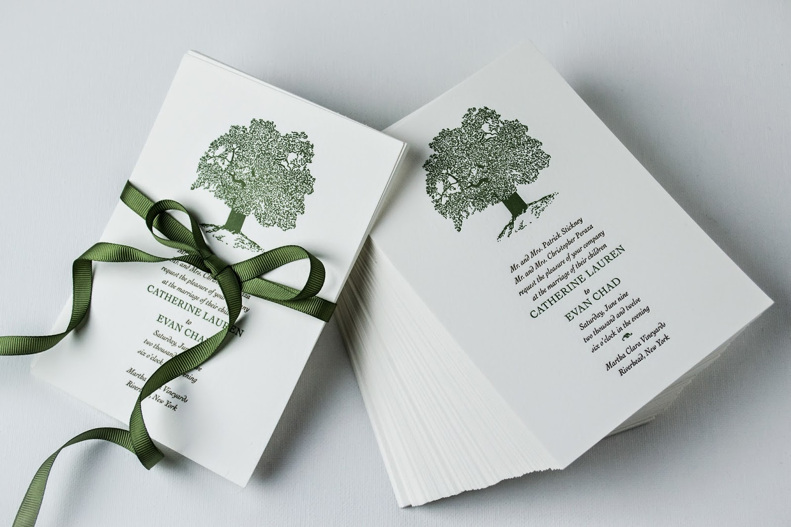 Coordinate the Look of Your Vineyard Wedding with Stationery ...