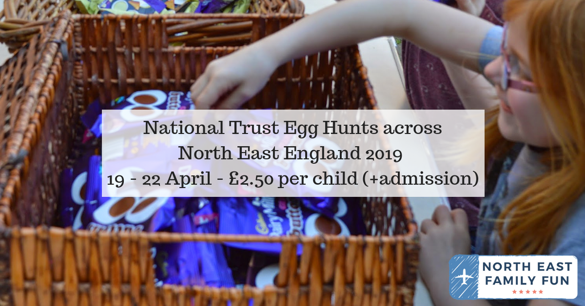National Trust Cadbury Easter Egg Hunts in the North East 2019