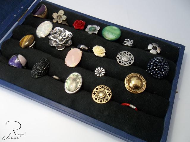 expositor de anillos