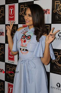 Actress Sonakshi Sinha at the Song Launch of Film Noor  0004.JPG
