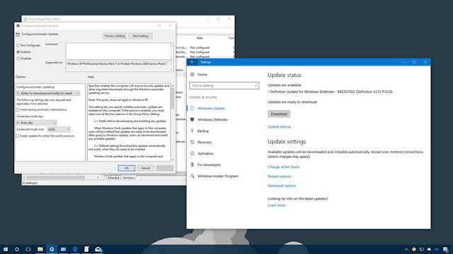 How to stop Windows 10 auto updates way