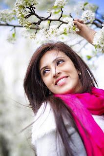 Bidya Sinha Saha Mim Cute Winter Selfie