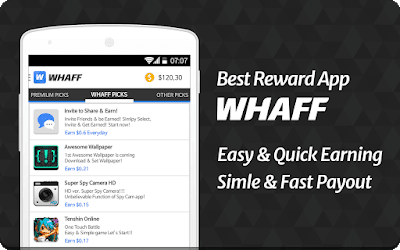 Earn Money From WHAFF Rewards Min $10 Every Day Use Invite Code- HF97253 To get Free $3