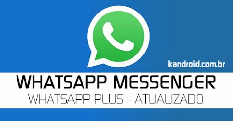 WhatsApp Plus v6.25 Apk Mod - Atualizado 2018
