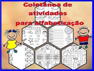 Coletânea de atividades alfabetização