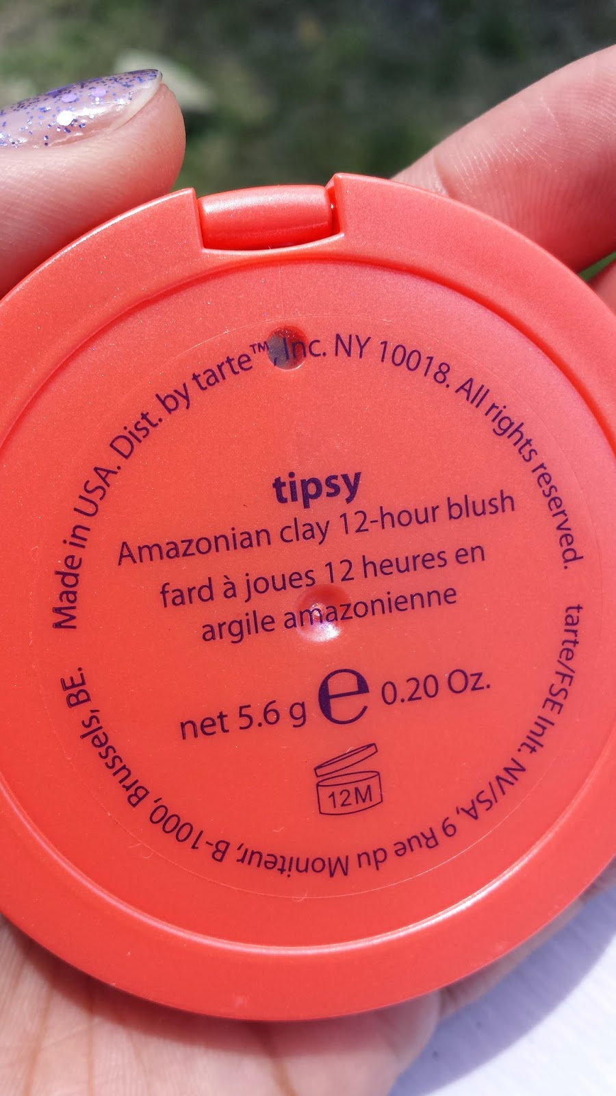 Tarte Amazonian Clay blush 'Tipsy' - www.modenmakeup.com