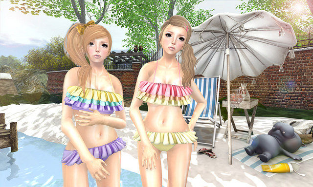 {amiable}Candy Pastel Pop Bikini