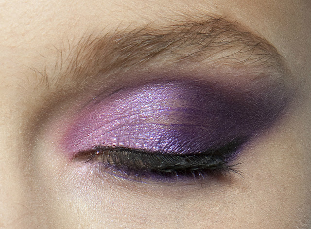 makeup lilac purple