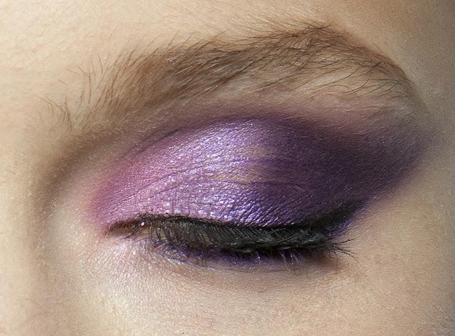 makeup lilac purple