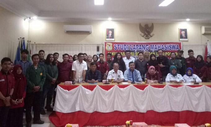 Mahasiswa FISIP Unsa Studi Lapang ke KPU Sulsel