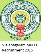 Vizianagaram MPEO Recruitment 2015