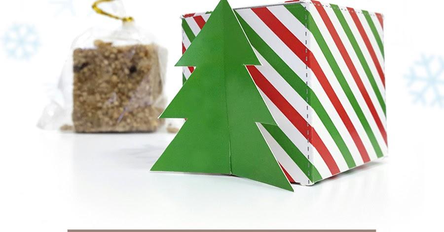 Free Printable Christmas Gift Box Templates.Free Printables For Happy Occasions Christmas Gift Box