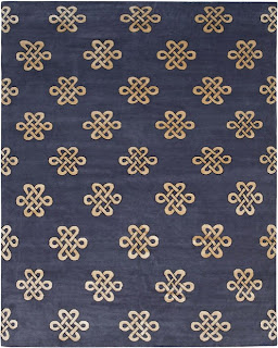 blue and gold rug living room bedroom dining room