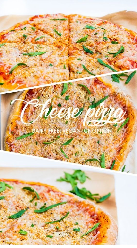 Dairy Free Cheese Pizza