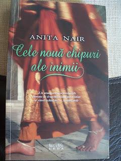 """""""Cele nouă chipuri ale inimii"""" de Anita Nair"""