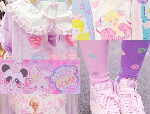 Y U M E H O L I C Fairy Kei Motifs