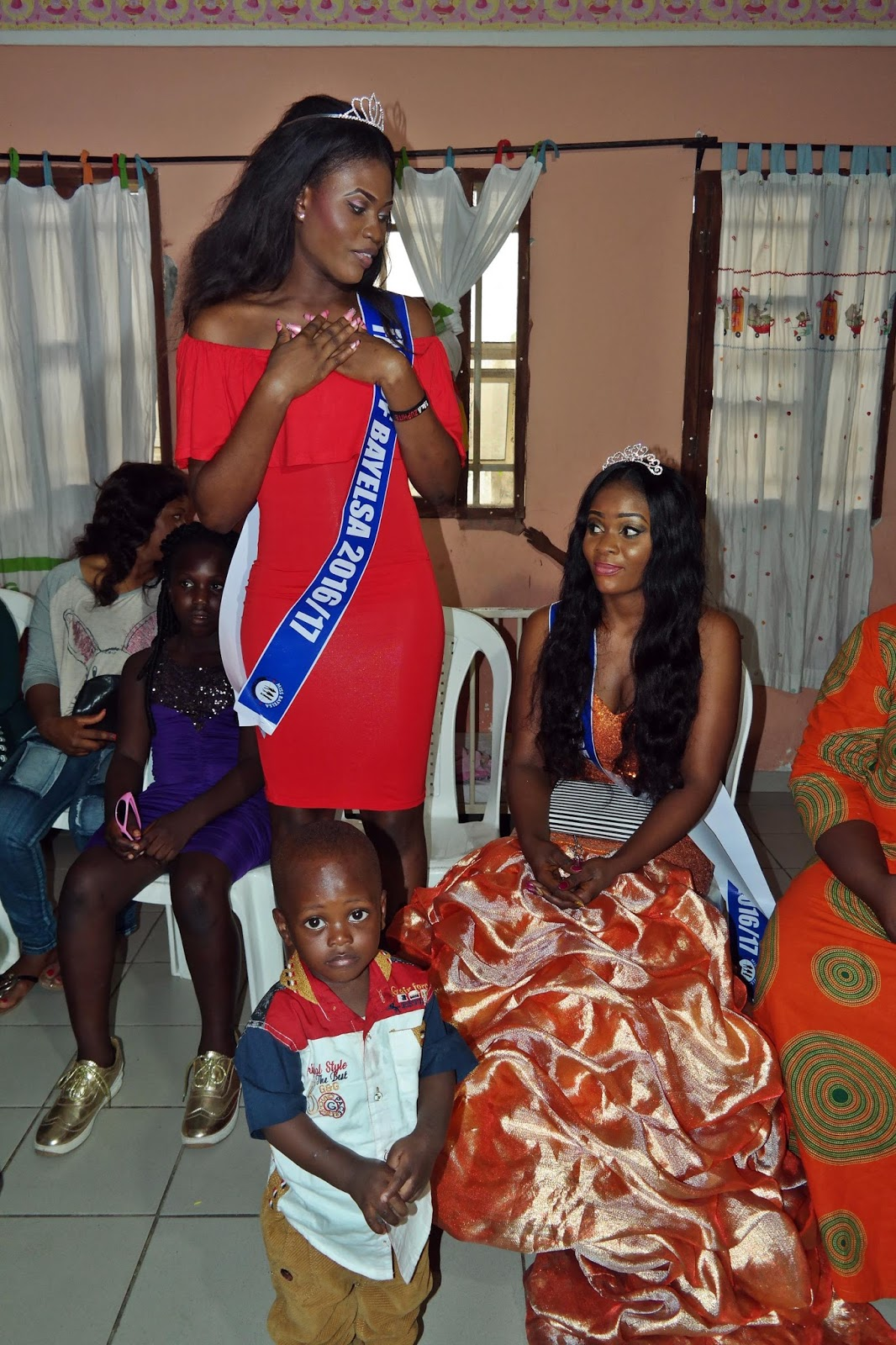 Love in the Air: Queen Freda Accompanies Queen Bella to the Orphanage 4