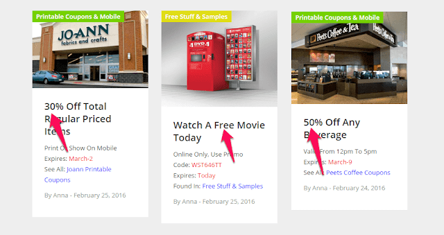 free stuff deals