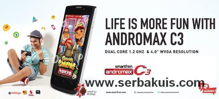 Kuis Berhadiah 5 Smartfren Andromax C3