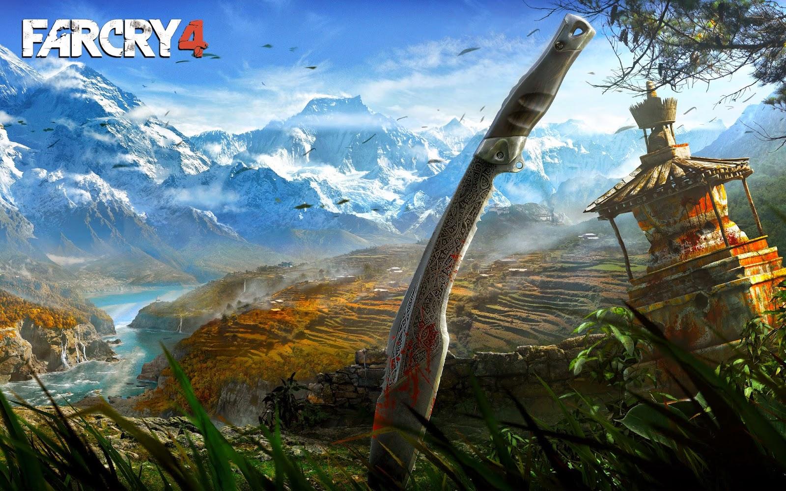 Far Cry 4 Wide Wallpaper