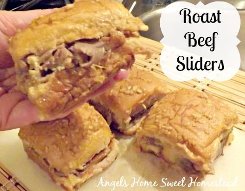 Roast Beef and Cheese Sliders