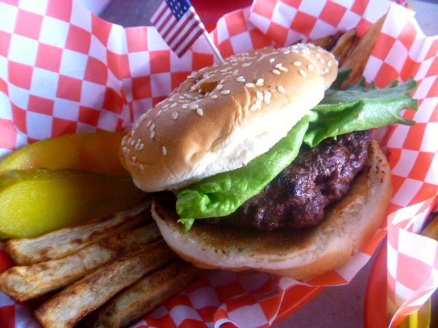 Labor Day Bash:  Butter Burgers - All American Burgers made better with butter!! - Slice of Southern