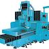 Mesin Gerinda datar spindel Horisontal dengan Gerak Meja Bolak-Balik
