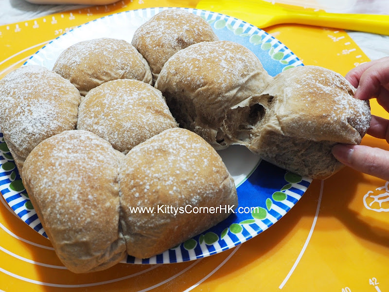 Light Muscovado Soft Bread DIY recipe 黑糖軟包  自家烘焙食譜