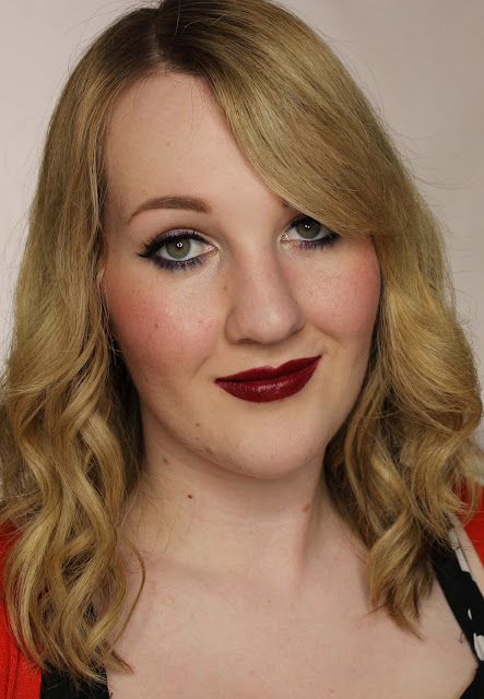Notoriously Morbid Diablo Lip Rouge - Kiss Me Swatches & Review