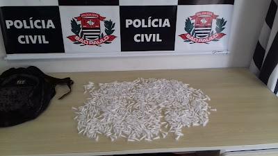 POLÍCIA CIVIL DE REGISTRO-SP CAPTURA UM PROCURADO PELA JUSTIÇA E PRENDE UM TRAFICANTE