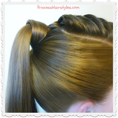 The perfect hair wrapped ponytail, video tutorial