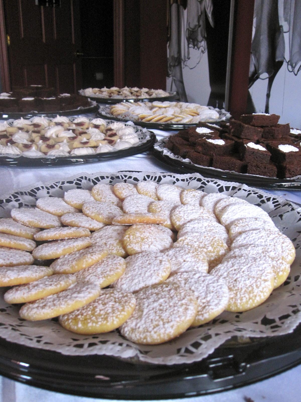 The Cultural Dish: Easy Lemon Drop Cookies