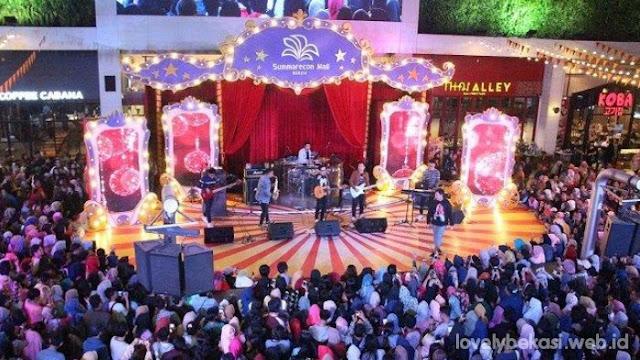Konser musik jelang tahun baru di bekasi