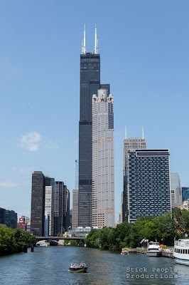 Willis (Sears) Tower -  Wendella River Cruise, Chicago, IL - (c) Stick People Productions
