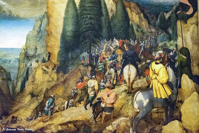 Pieter Bruegel, La Conversión de San Pablo - Kunsthistorisches Museum, Viena por El Guisante Verde Project