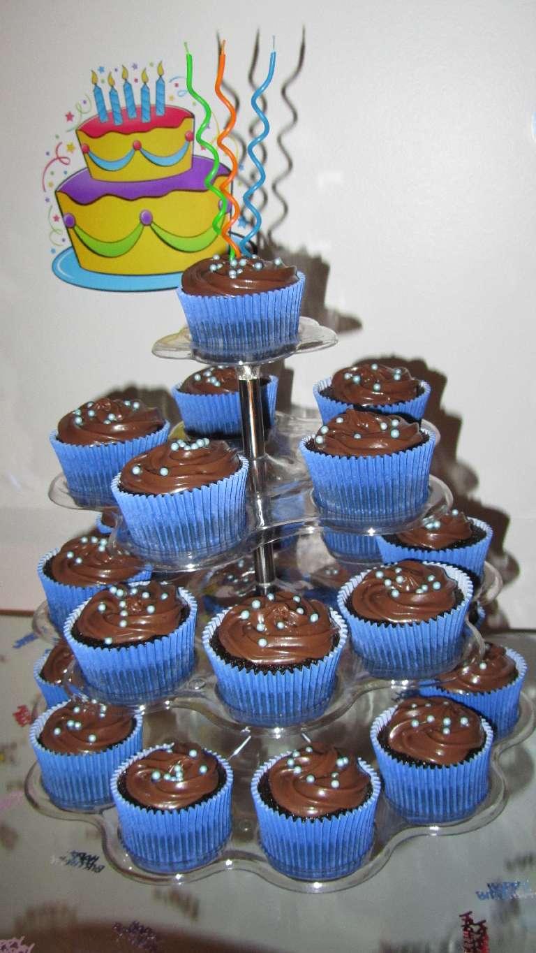 Lu Cupcakes: Mini cupcakes de passarinhos
