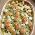 Zapiekanka ryżowa z cukinią, fasolką szparagową i kalafiorem