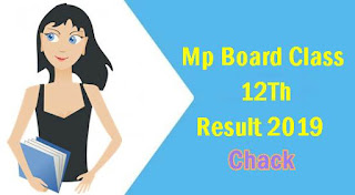 MP Board 12th Class Results 2019