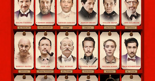 Grand Hotel Budapest (2014) - Wes Anderson ~ CinExpertos