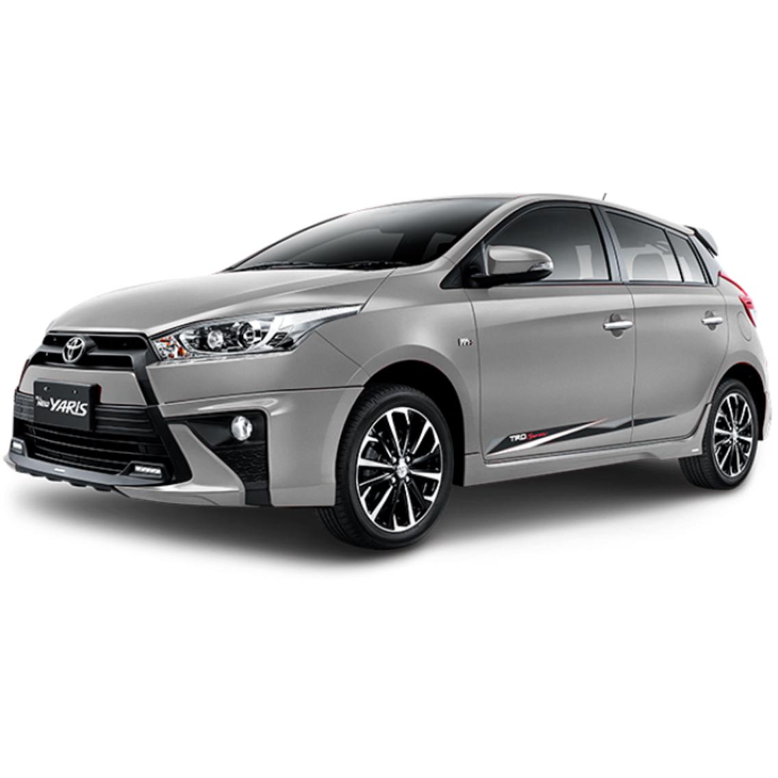 Harga New Yaris Trd 2018 All Camry Hybrid Review Mobil Toyota Semarang Sales Promo Kredit
