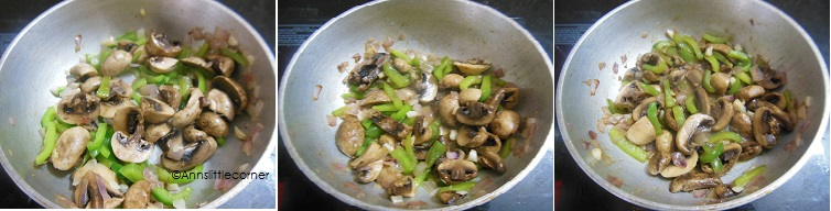 How to make Pepper Mushroom - Step 2